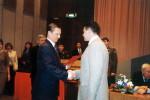 Сергей Иванов вручает Сергею Ростовскому очередное воинское звание