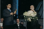 Сергей Ростовский и Людмила Зыкина на вручении премии Олимп