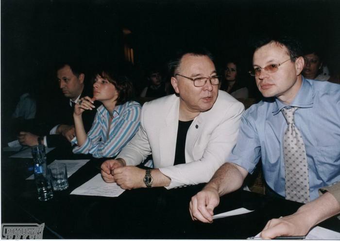 Виктор Зайцев и Сергей Ростовский в жюри