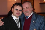 Сергей Ростовский и поэт Николай Денисов